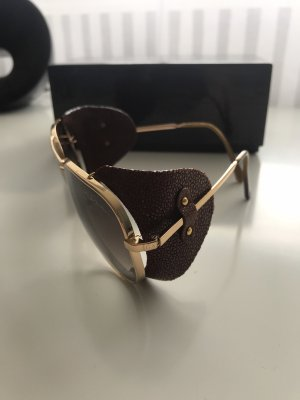 Giorgio  Armani Pilotenbril bruin-goud