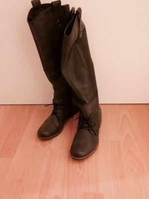 Designer-Stiefel, Echtleder, aus Dänemark