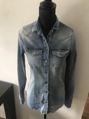 True Religion Denim Shirt azure