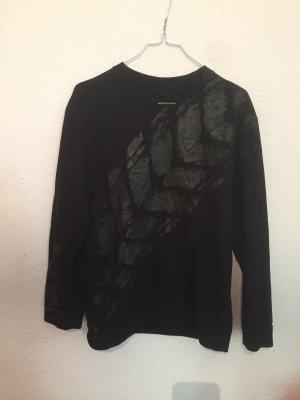Suéter negro-gris antracita