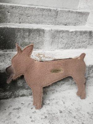 Designer Tasche Hund aus 100% Leder / Fell
