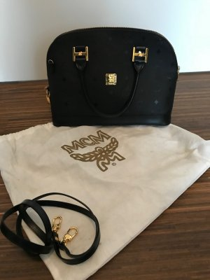 MCM Handbag black-sand brown