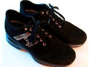 *  Designer  Velours  Sneakers  *  Neuwertig  *