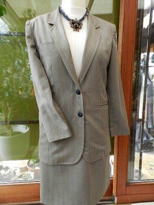 Designer Wear  Damen Kostüm - dezente Streifen - Gr.34/XS  - Top ***