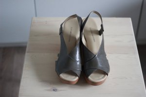 Designer wedges COSTUME NATIONAL Gr. 39 Leder NP 300€