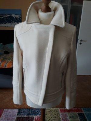 Designer Winterjacke weiß Gr. 40 von Bogner