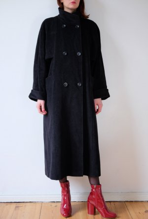 Cappotto in lana talpa Lana vergine