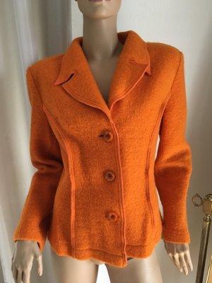 Wool Blazer orange
