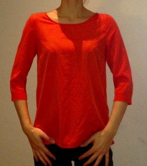Designerbluse in tollem Rot in Größe 34