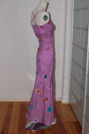 Anja Gockel Vestido de noche multicolor
