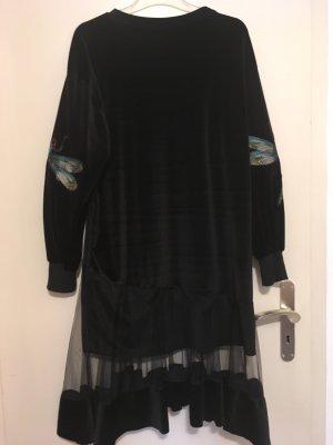 Designerkleid aus Samt