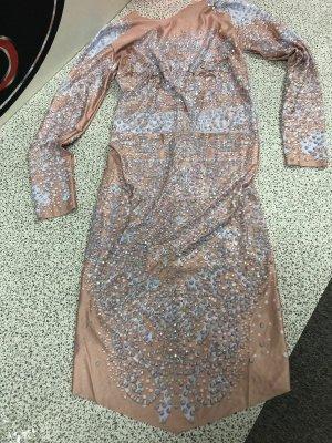 Crazy Outfits Robe de cocktail rose clair-argenté