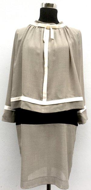 Designerkleid mit langen Ärmeln und Schleife