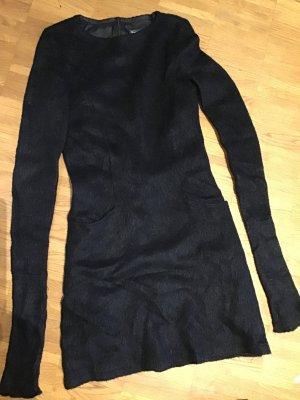 Franco Callegari Vestido de lana negro