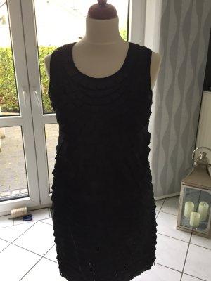 Designerkleid  Sarah Kern Cocktailkleid Kleid das kleine Schwarze Gr. 38