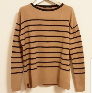 Laurèl Oversized Sweater black-camel