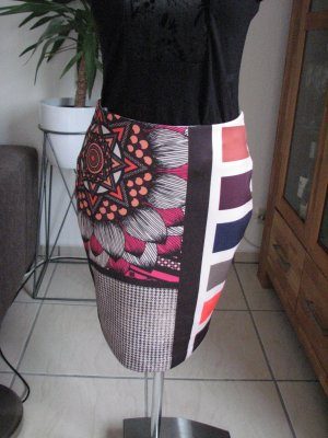Biba Pencil Skirt multicolored