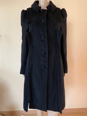 Designers Remix Charlotte Eskildsen Wollen jas zwart
