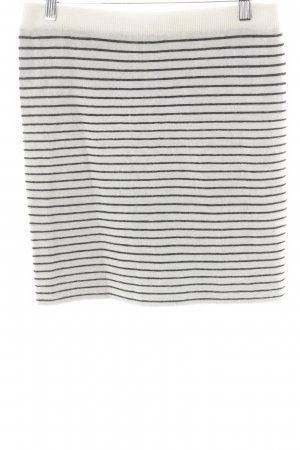 Designers Remix Charlotte Eskildsen Wool Skirt black-natural white casual look