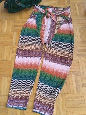 Missoni Pantalón estilo Harem multicolor rayón