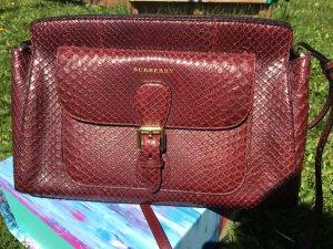 *Designerschnäppchen, NEUwertige originale Handtasche von Burberry aus Exotenleder, toller Farbton, Hingucker, NP: EUR 4000, Vintage