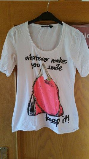 Designershirt von Marc Aurel  Shirt mit verlängerten Armen