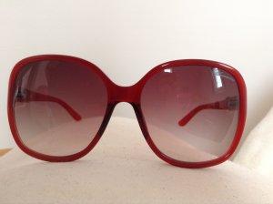 Designersonnenbrille in Rot