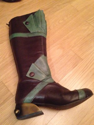 Designerstiefel aus Leder made in Portugal