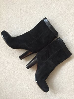 Jil Sander Korte laarzen zwart