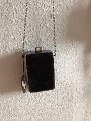 Alfredo Pauly Handbag black-silver-colored