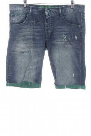 Desigual 3/4 Length Jeans blue-green casual look