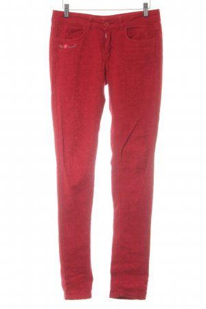 Desigual 7/8-Hose rot florales Muster Casual-Look