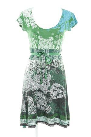Desigual A-lijn jurk abstracte print casual uitstraling