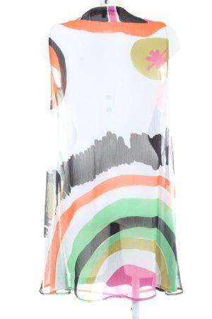 Desigual A-Linien Kleid abstraktes Muster Boho-Look