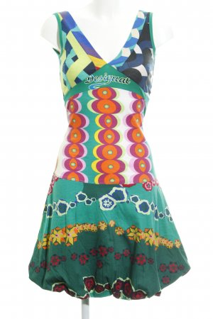 Desigual A-lijn jurk abstract patroon extravagante stijl