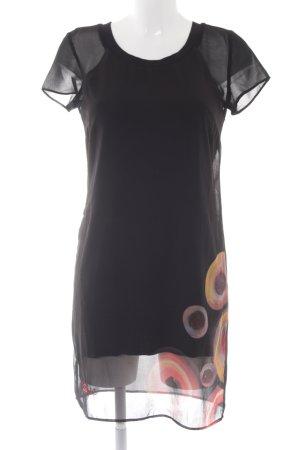 Desigual A-Linien Kleid Blumenmuster Boho-Look
