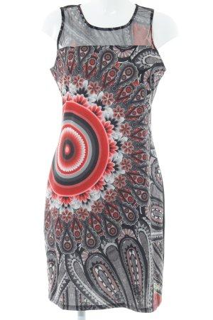 Desigual A-lijn jurk bloemenprint casual uitstraling