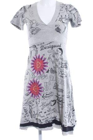 Desigual A-lijn jurk bloemen patroon casual uitstraling