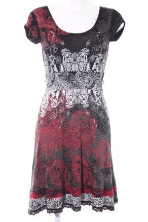 Desigual A-lijn jurk verfraaid patroon casual uitstraling