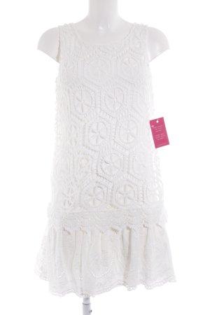 Desigual A-Linien Kleid weiß Casual-Look