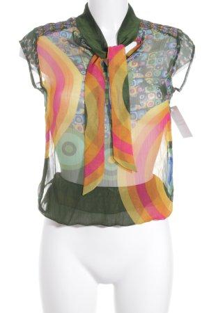 Desigual ärmellose Bluse abstraktes Muster Gypsy-Look