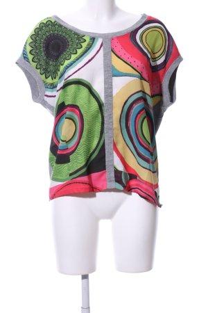 Desigual ärmellose Bluse abstraktes Muster Casual-Look