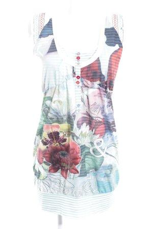 Desigual Babydoll-jurk bloemenprint casual uitstraling