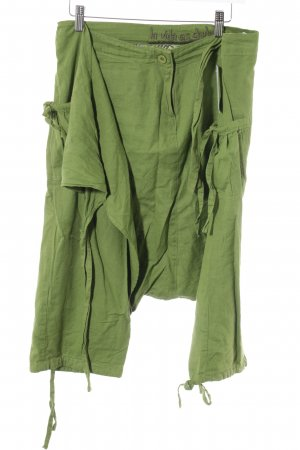 Desigual Baggy Pants grass green casual look