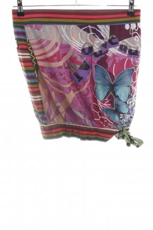 Desigual Balloon Skirt abstract pattern casual look