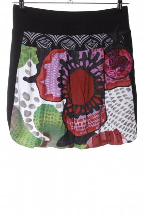 Desigual Balloon Skirt abstract pattern extravagant style