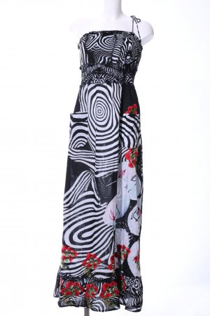 Desigual Bandeau Dress abstract pattern casual look