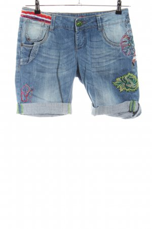 Desigual Bermudas flower pattern casual look