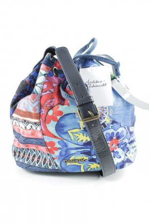 Desigual Pouch Bag abstract pattern extravagant style
