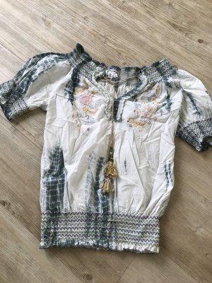 Desigual Bluse Batik Look